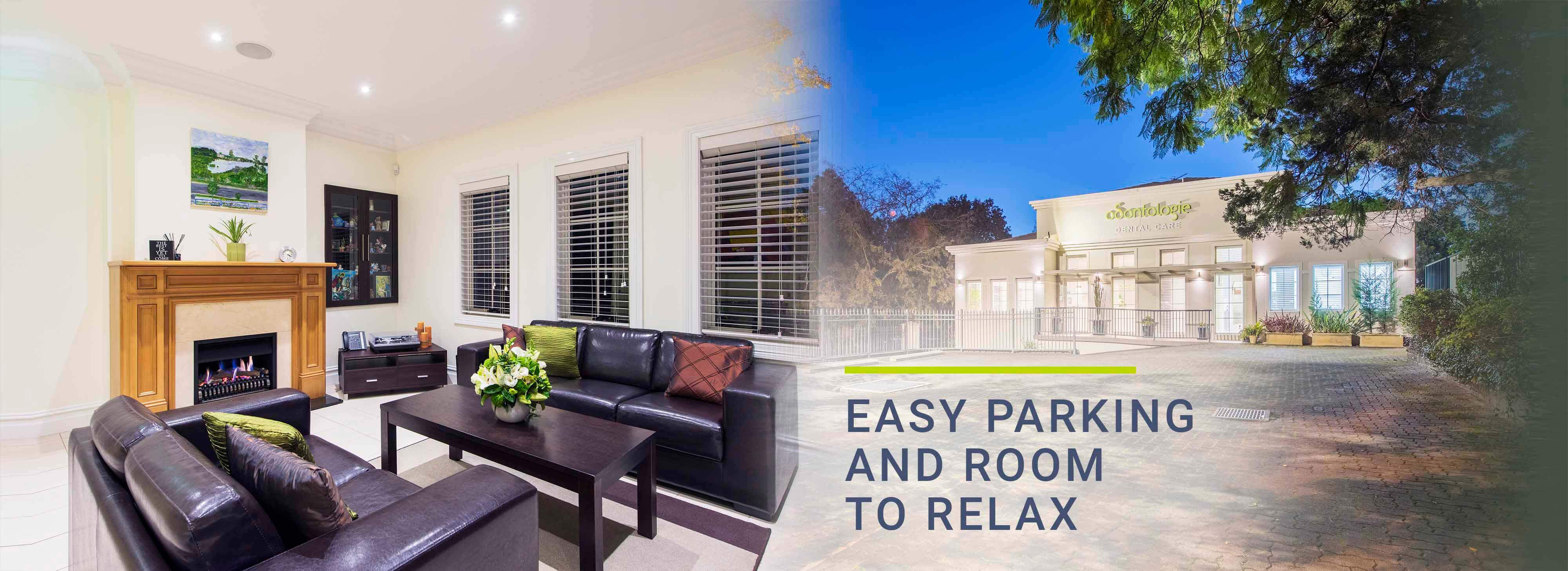 Easy Parking and Rooms